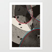 dance Art Prints featuring Dance by Julia Tomova
