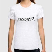 28 Days 6 Hours 42 Minut… Womens Fitted Tee Ash Grey SMALL