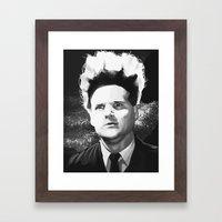 EraserHead Framed Art Print