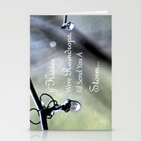 If Kisses Were Raindrops... Stationery Cards