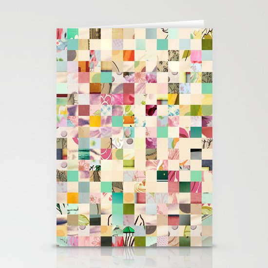 Quilted  Stationery Card