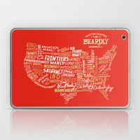 UNITED STATES OF BEARDLY Laptop & iPad Skin