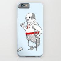 On the merman's propensity towards intemperance, pugnacity, and adultery iPhone 6 Slim Case