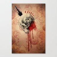 Blood Canvas Print
