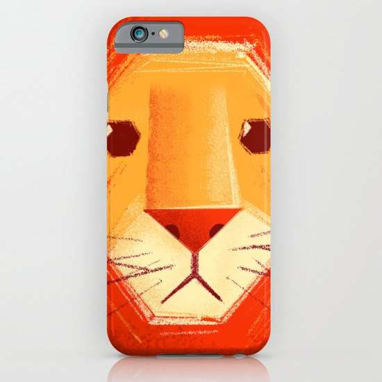 Sad lion iPhone & iPod Case
