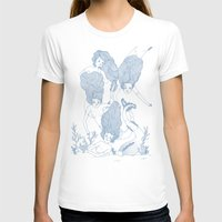 Mermaids Womens Fitted Tee White SMALL