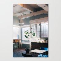 Coffee Shop Canvas Print