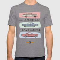Motor Style Inc.: 60s Am… Mens Fitted Tee Tri-Grey SMALL