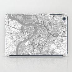 Antwerp Map Line iPad Case