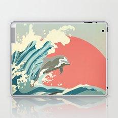 dolphin happiness Laptop & iPad Skin