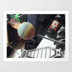 One Man's Trash, Part III Art Print
