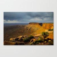 Sunrise Utah. Canvas Print