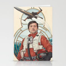 Poe Dameron Stationery Cards