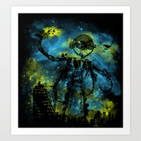 mad robot 2 Art Print