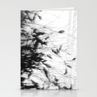 Dark Rain Stationery Cards