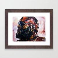 Masterpiece For The #mas… Framed Art Print