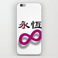 eternity iPhone & iPod Skin