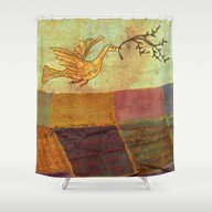 Time And Time Again And … Shower Curtain