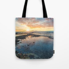 Big Island Sunset Tote Bag
