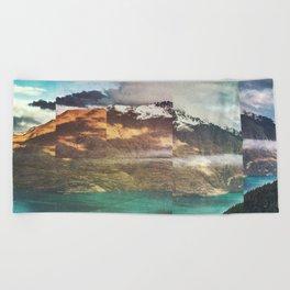 Beach Towel - Fractions A32 - Seamless
