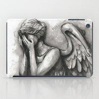 Weeping Angel Watercolor… iPad Case