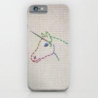 unicorn iPhone & iPod Cases featuring unicorn by gazonula