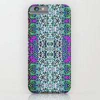 iPhone & iPod Case featuring Lavender and Teal by TheLadyDaisy