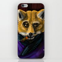 Sophisticated like a Fox iPhone & iPod Skin