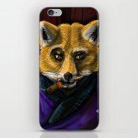 Sophisticated like a Fox iPhone & iPod Skin