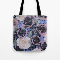 feathered roses  Tote Bag