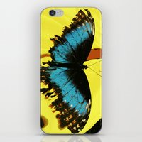 Butterfly Test iPhone & iPod Skin