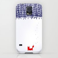 Galaxy S5 Cases featuring Alone in the forest by Robert Farkas