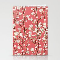 Go Orient Cherry Blossoms Stationery Cards
