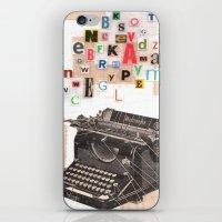 Paperback Writer iPhone & iPod Skin