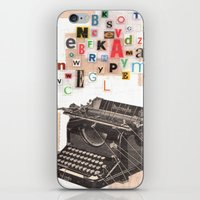 Paperback Writer iPhone & iPod Skin
