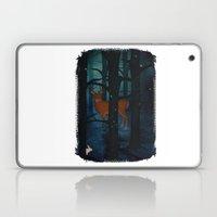 Winter Woods at Night Laptop & iPad Skin