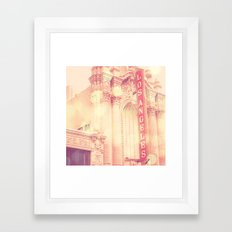 Los Angeles Theatre Phot… Framed Art Print