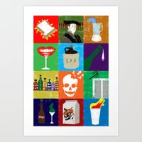 Alcoholic Euphemisms Art Print