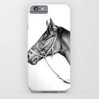 Sir Alfred - Racehorse : Graphite iPhone 6 Slim Case