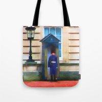Queens Guard Tote Bag