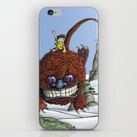 Mountain Hopper iPhone & iPod Skin