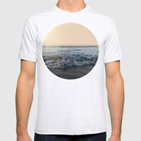 Sunrise Ocean Mens Fitted Tee Ash Grey SMALL