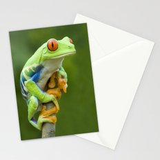 Red-eyed Tree Frog 4 Stationery Cards