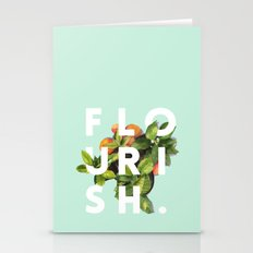 Flourish #society6 #buya… Stationery Cards