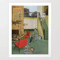 (Acting Like) Some Kind Of Fifties Housewife I Art Print