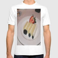 Slice of a Wedding Cake White SMALL Mens Fitted Tee