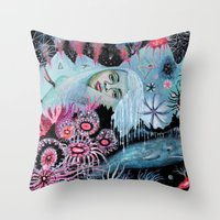 Minkie  Throw Pillow