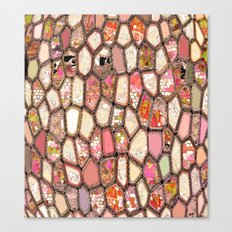Cells in Pink Canvas Print