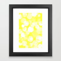 Confetti paint THREE Framed Art Print