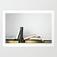 Vintage Books No.1 Art Print